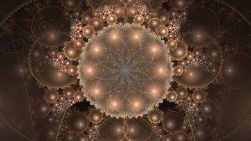 Hypertiled Flower of Life van Jasper de Brouwer