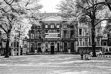 Palace Lange Voorhout Escher in het Paleis Den Haag Niederlande Schwarz und Weiß von Hendrik-Jan Kornelis