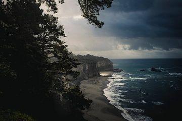 stürmische kalifornische Küste von Jasper Verolme