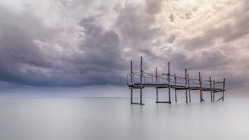 Brücke im Meer von Raynaud Ritsma