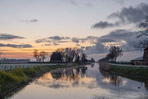 wolken over de Linge van Tania Perneel