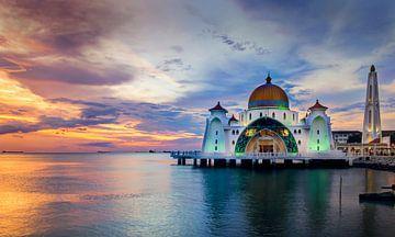 Moschee in Melaka, Malaysia von Adelheid Smitt