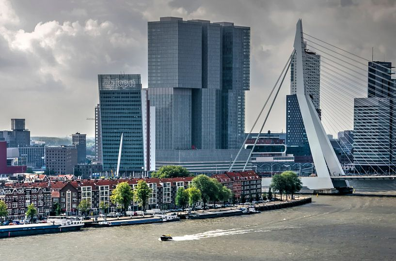 Watertaxi op de Maas van Frans Blok