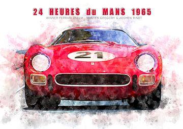 Ferrari 250LM, Le Mans winnaar 1965 van Theodor Decker