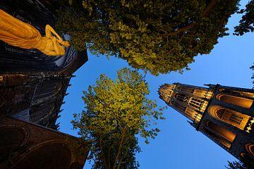 Verzetsmonument, Domkerk en Domtoren in Utrecht (2)