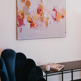 Klantfoto: Winter Forest van Maria Kitano, als print op doek