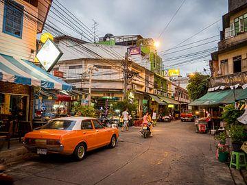 Abends in Bangkok von Mathias Möller