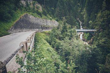 Die Straße nach Gerlos von Richard Driessen
