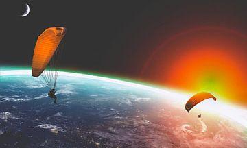 Paragliding von Frank Batenburg