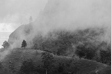 Mist op de Adams Peak