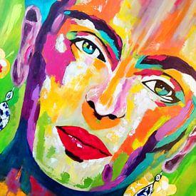 Frida Kalo Vivre sur Kathleen Artist Fine Art