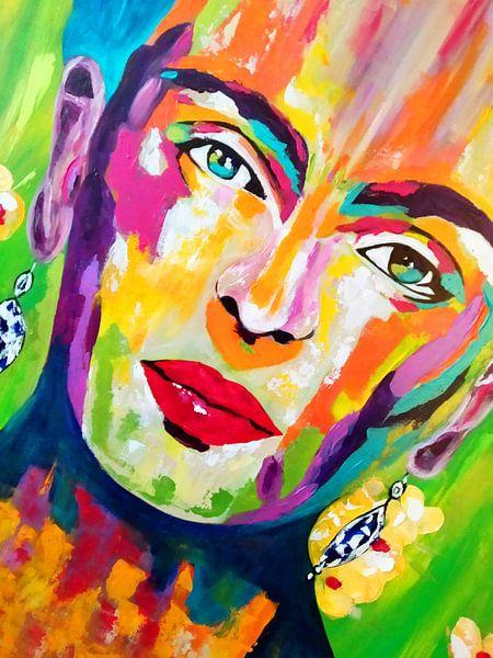 Frida Kalo Wohnen von Kathleen Artist Fine Art
