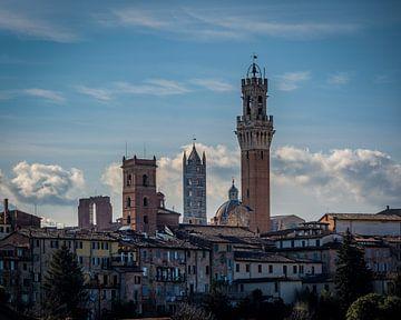 Die Türme von Siena von Teun Ruijters