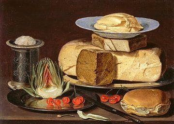 Stillleben mit Käse, Clara Peeters