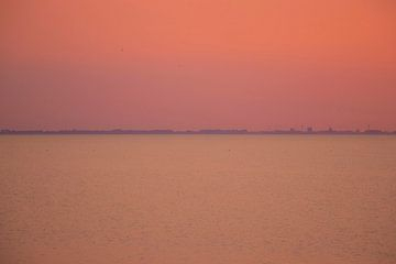 Zomeravond op de Waddenzee sur Jannie de Graaf