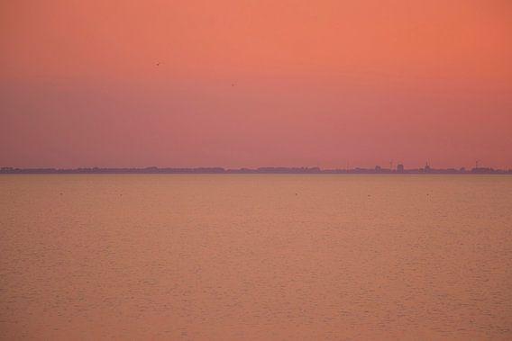 Zomeravond op de Waddenzee