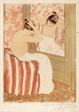 Frisur, Mary Cassatt