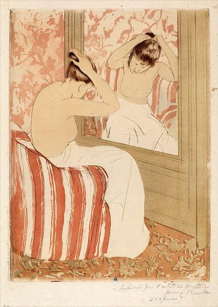 Het kapsel, Mary Cassatt