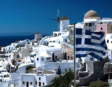 Santorini Griechenland von Ida Muller
