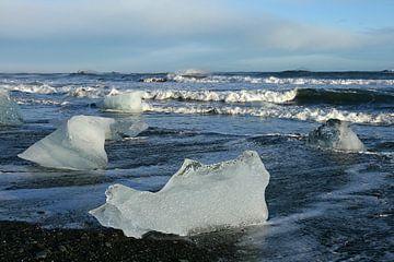 ijs op het strand von Antwan Janssen