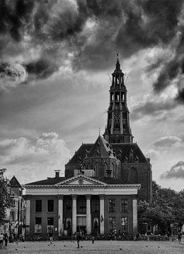 Groningen Korenbeurs kerk Nederland van Tom Poelstra