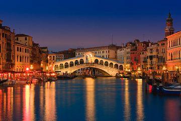 Rialto Bridge, Venice, Italy van Henk Meijer Photography