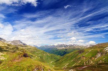 Zwitserse alpen van Dennis van de Water