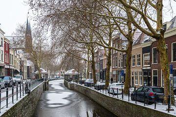 Visbanken in Gouda van Rinus Lasschuyt Fotografie
