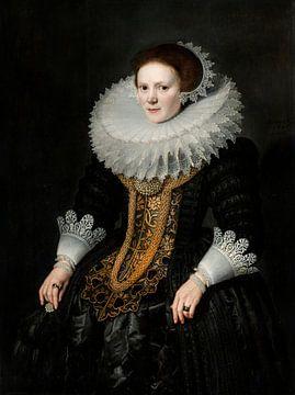 Porträt einer Frau, Michiel van Mierevelt