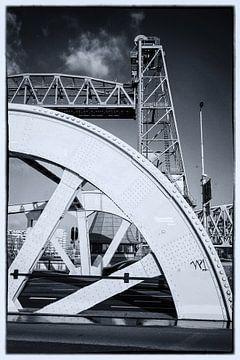 De hef ferovaire bridge Rotterdam,