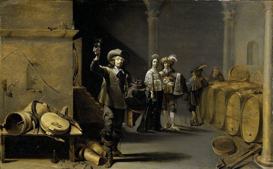 De wijnproevers, Jacob Duck van Meesterlijcke Meesters
