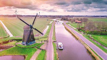 Mühle Obdam von Sebastiaan van Stam Fotografie