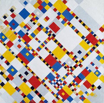 Piet Mondriaan. Victory Boogie Woogie van