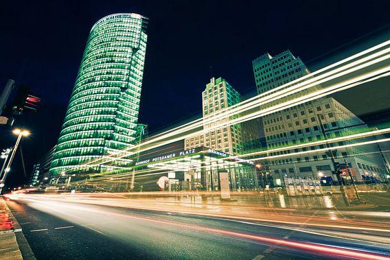 Berlin - Potsdamer Platz at Night