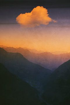 Dreamland - Zonsopgang St. Gotthard van Dirk Wüstenhagen