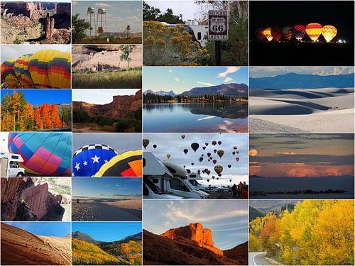 Collage Midden Amerika