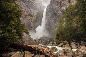 Yosemite waterval van Stefan Verheij