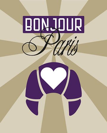 Bonjour Paris van Carla van Dulmen
