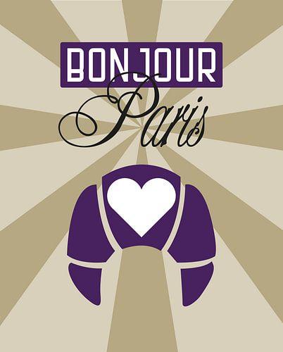 Bonjour Paris von Carla van Dulmen