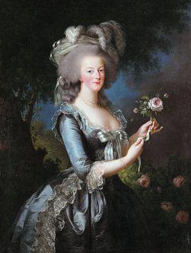 Marie-Antoinette, Königin von Frankreich, Élisabeth Vigée-Le Brun