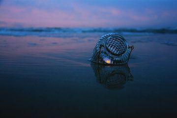 Kaars in zee von Jessica Wy