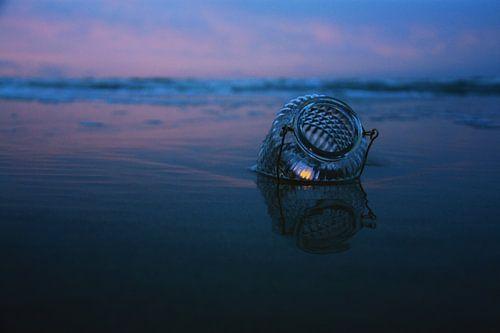 Kaars in zee