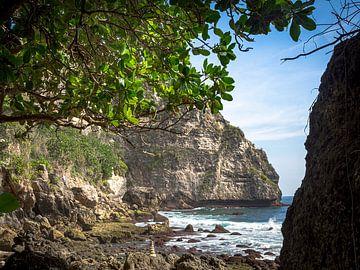 Een Rotsig Paradijsje op Nusa Penida Indonesië van Rik Pijnenburg