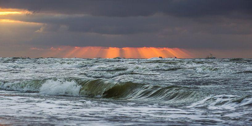 Water, wind en golven van Dirk van Egmond
