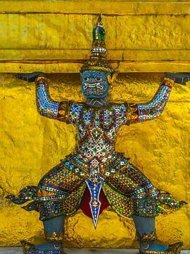 Bewaker van de tempel, Thailand van