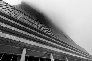 De Rotterdam in de mist