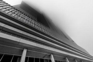 De Rotterdam in de mist von Gino Heetkamp