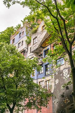 Hundertwasserhaus 2 sur Bart Berendsen