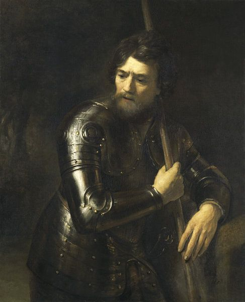 Porträt eines Offiziers im Geschirr, Willem Drost von Meesterlijcke Meesters