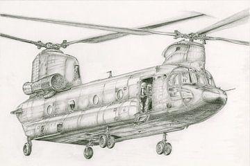 CH-47 Chinook von Frank Vos